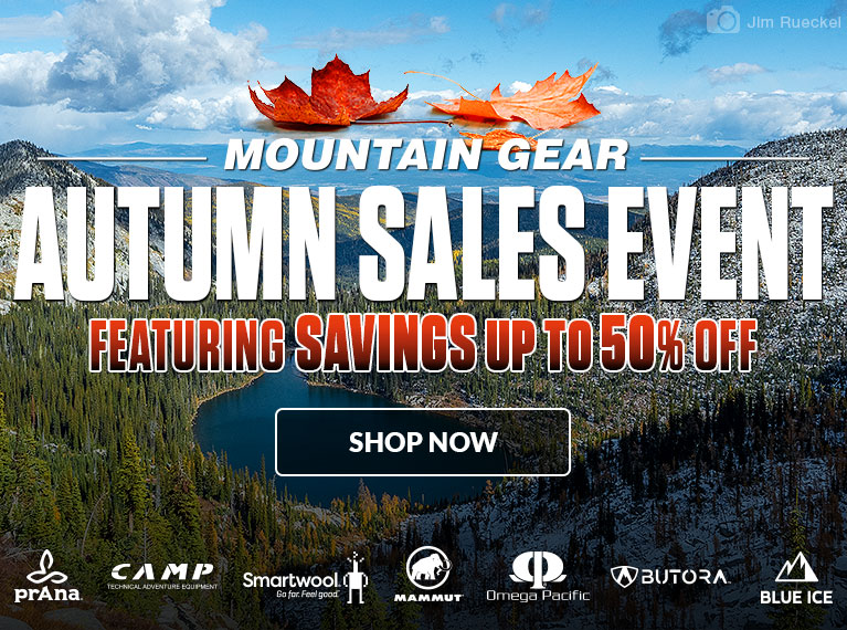 Mountain Gear Autumn Sales Event