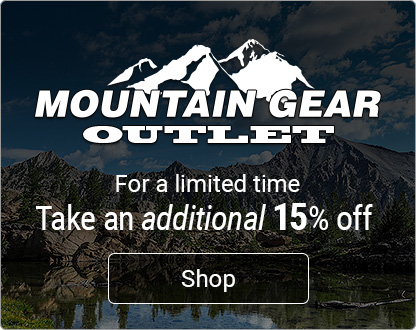 Save an additional 15% off the Outlet
