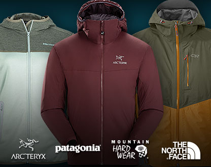 Save up to 70% off Select Jackets