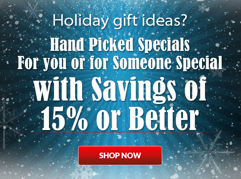 Take 15% off Hand-Picked Specials